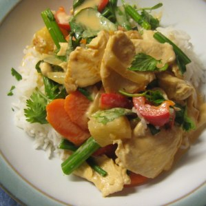 Red Curry with Chicken