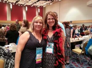 Non-bar highlight: Barbara O'Neal hugged me!