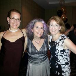Me, Jessica Topper, and Alison Stone at RWA13