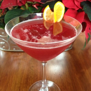 Pomegranate Orange Martini