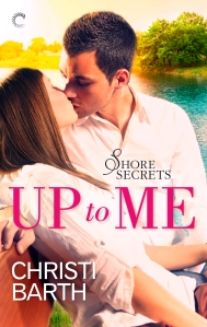 Cover of Up To Me: a smoochy kiss