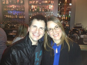 My first crush was on Hal Sparks! Our fathers have been buddies for years...and now my children watch him on Lab Rats and tease me. He did a comedy show in Buffalo this year. I was front row because, well...Hal Sparks!