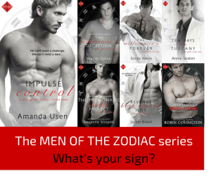 A few of my favorite Indulgences! Click to read an excerpt from IMPULSE CONTROL, book one in the Men of the Zodiac Series!