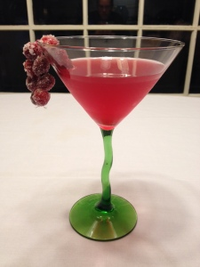 Visit Guilty Pleasures Book Reviews for the recipe for this Very Merry Cranberry Cocktail!