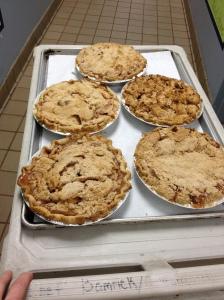 Pie week! Apple Crumb. Mmm!