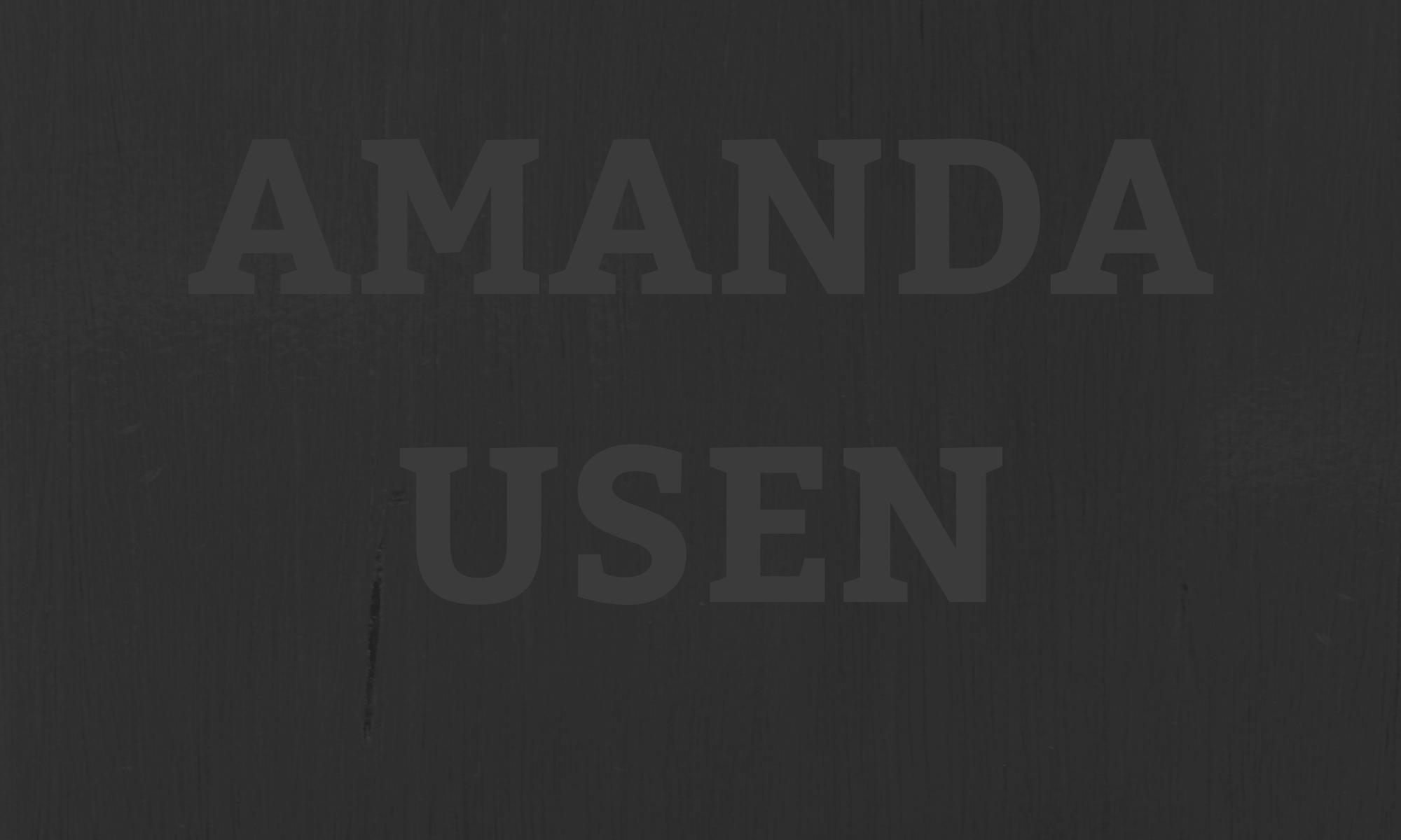 Amanda Usen
